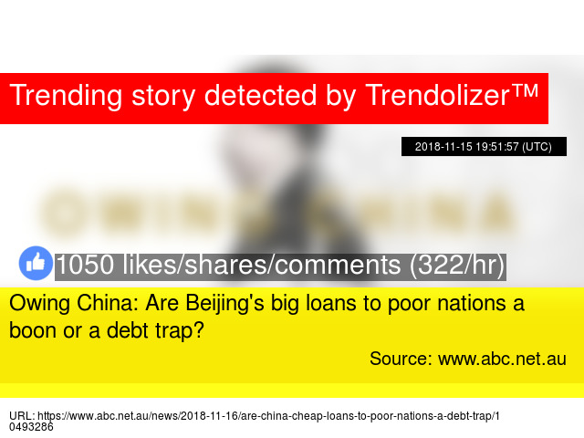 Owing China: Are Beijing'