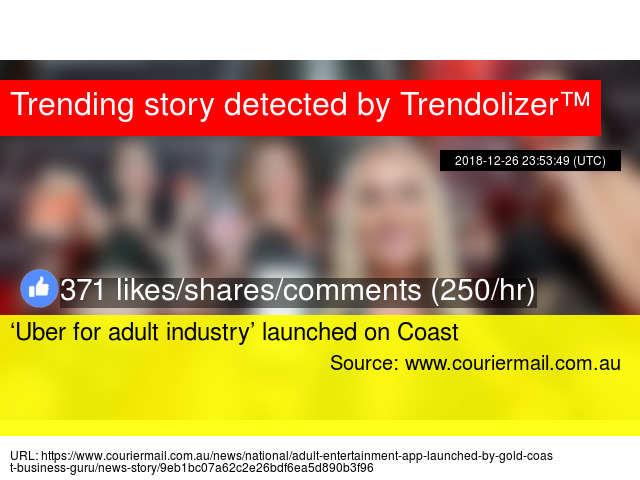 'Uber for adult industry' launched on Coast