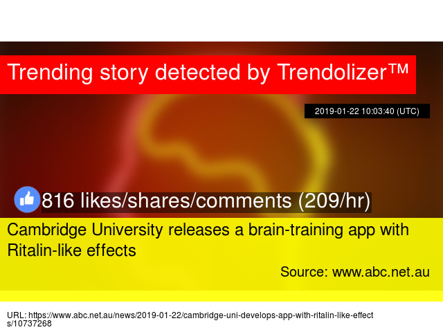 Cambridge University releases a brain-training app with
