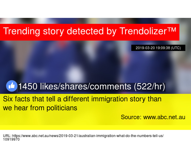 Six facts that tell a different immigration story than we hear from