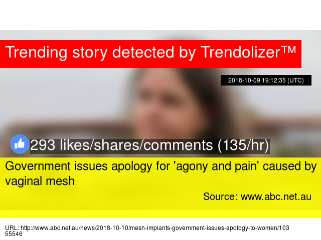 Government Issues Apology For Agony And Pain Caused By Vaginal Mesh